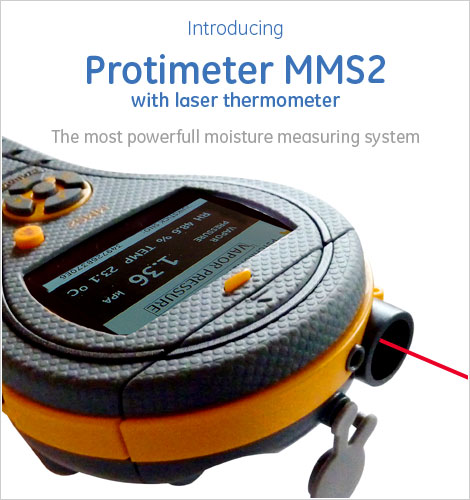 Introducing the Protimeter MMS moisture measuring system